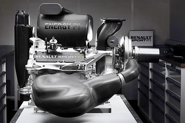 Renault reveals overhauled 2015 F1 engine - photos