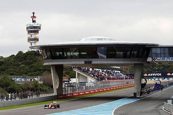 Jerez testing preview