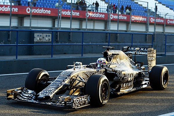Camouflaged Red Bull stars in Jerez Formula One test