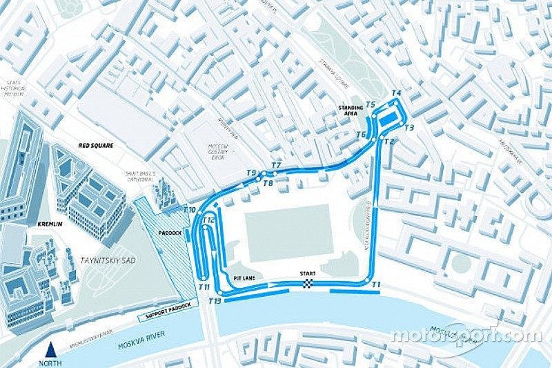 Moscow race announcement 2015 track map of the formula e moscow race