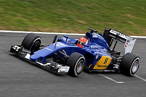 Formula 1 Breaking news Nasr plays down Sauber's top test pace