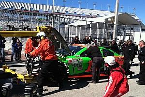 Danica's wreck stalls Sprint Cup practice
