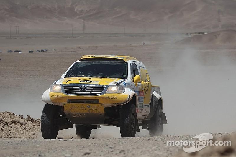 ALDO Racing, con su mejor etapa del Dakar