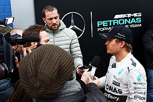 Rosberg suffering inflamed nerve