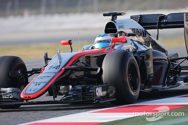 Alonso: Barcelona like the first test for McLaren