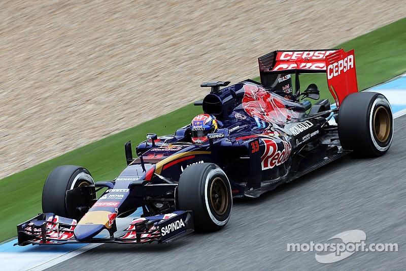 Verstappen hace su debut con Toro Rosso