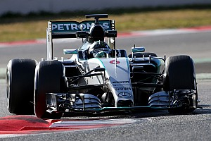 Rosberg sets fastest time yet to top Barcelona test
