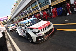 WTCC Testing report Citroën and López begin title defense