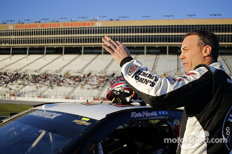 Kevin Harvick wasn't surprised by high speeds at Atlanta