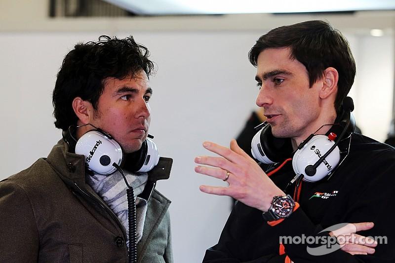 Sergio Pérez rodó con el nuevo Force India