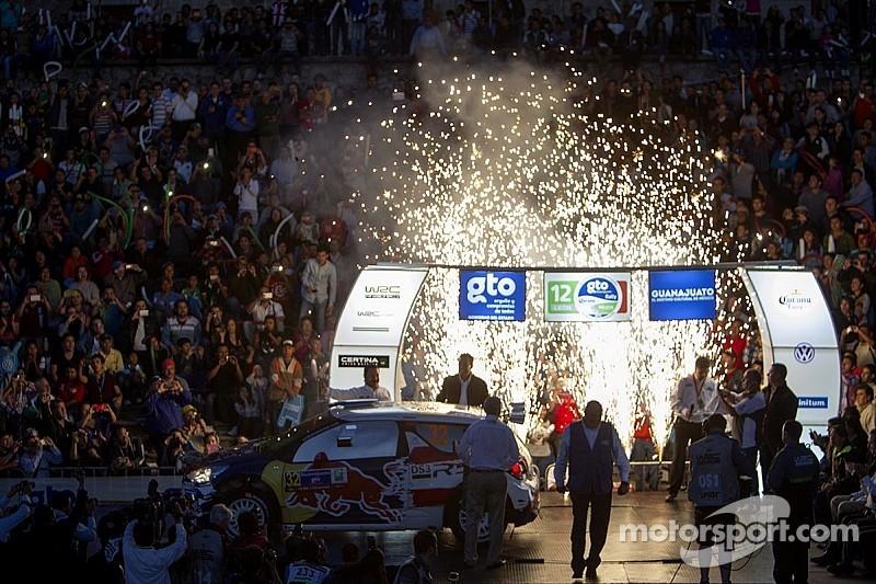Sébastien Ogier, primer líder del Rally México