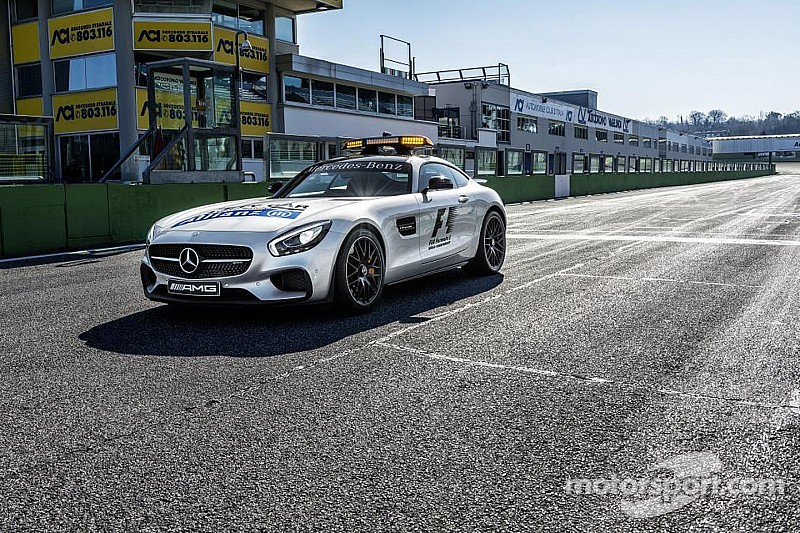 New Formula One safety car unveiled