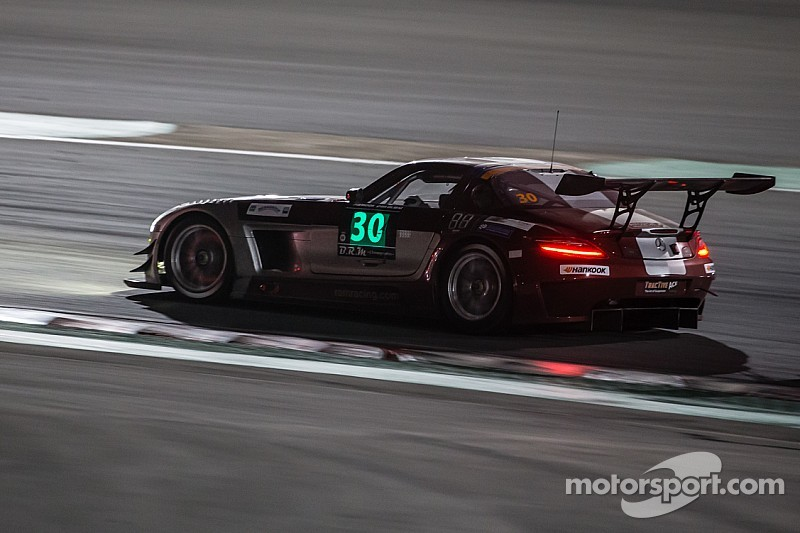 Ram Racing Mercedes leads the 2015 Hankook 12H Italy-Mugello after Part 1