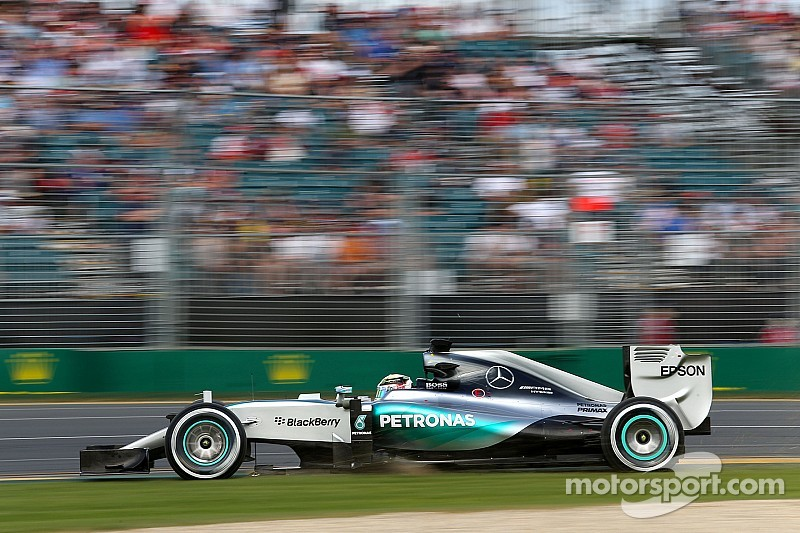 Australian GP: the starting grid