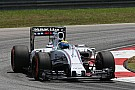 A busy Friday for Williams at Sepang