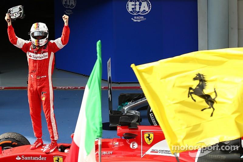 Vettel  ya piensa en el título con Ferrari