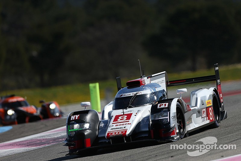 Audi aventaja en Silverstone