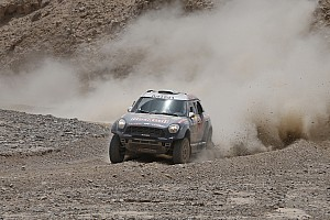 Cross-Country Rally Race report MINI ALL4 Racing with Nasser Al-Attiyah secures win at 2015 Sealine Cross-Country Rally Qatar