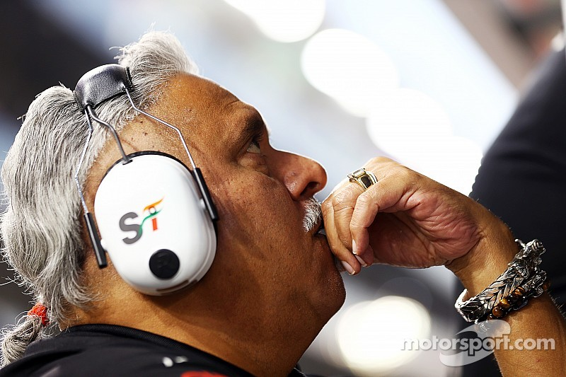 Force India owner Mallya under pressure to resign from USL board