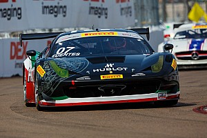 PWC Race report Ferraris atop GT-A podium in Barber
