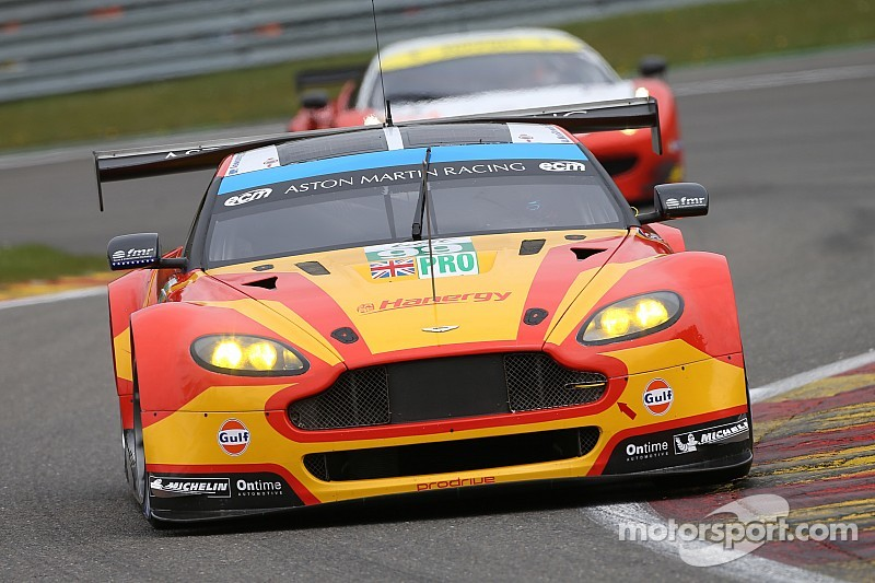 Double pole for Aston Martin at Spa
