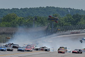NASCAR Sprint Cup Breaking news 'Big One' strikes on lap 46 at Talladega - video