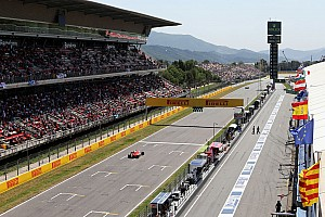 Spanish GP: Provisional starting grid