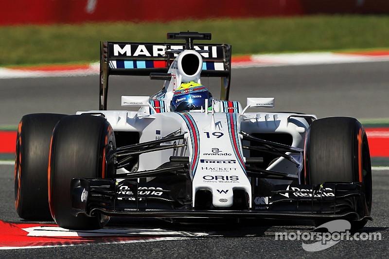 Massa cometió un error en la Q3