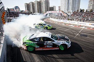 "Formula Drift Race report Aurimas ""Odi"" Bakchis takes his first victory moves into first place in the standings"