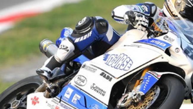 WSBK 2010: Lorenzo Lanzi con il team DFX
