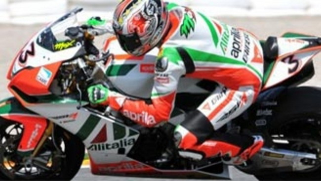 WSBK 2010, Valencia, Q2: Biaggi il più veloce