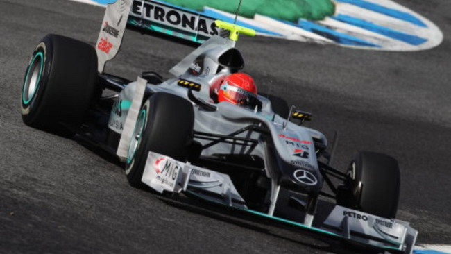 Una Mercedes modificata apposta per Schumacher