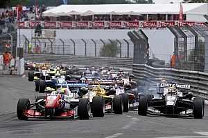 F3 Europe Race report Dennis wins again in crash-strewn race two