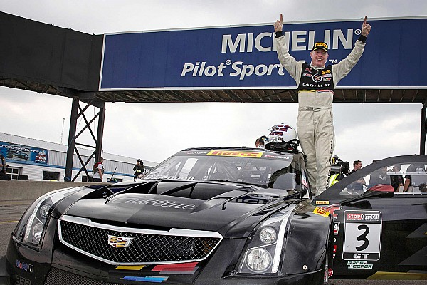 O'Connell gives Cadillac ATS-V.R its first win