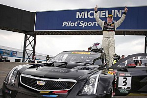 PWC Race report O'Connell gives Cadillac ATS-V.R its first win