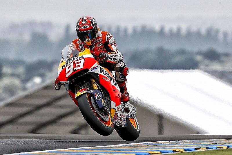Marquez: Higher temperatures caused Honda woes