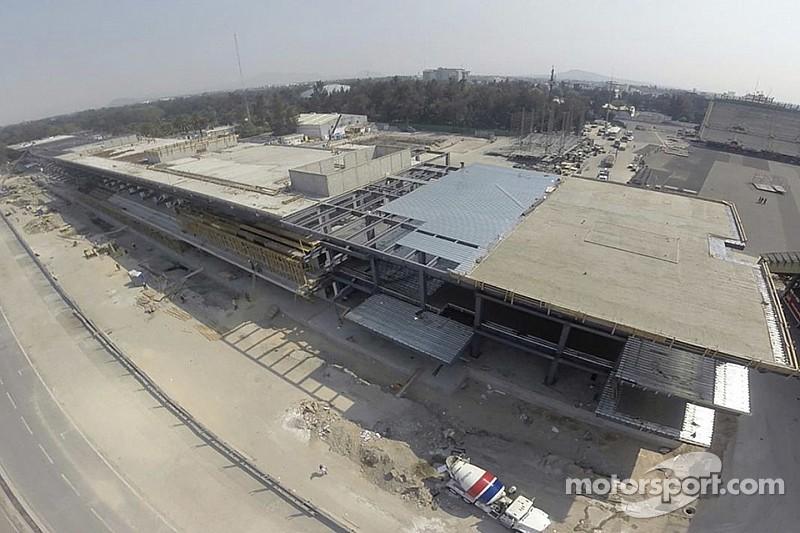 Las remodelaciones en México van conforme lo planeado