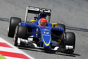 Nasr admits lack of downforce holding Sauber back