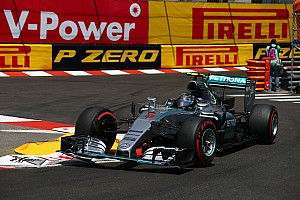 Mercedes' Rosberg wins in Monaco to make it a hat-trick of wins in the principality