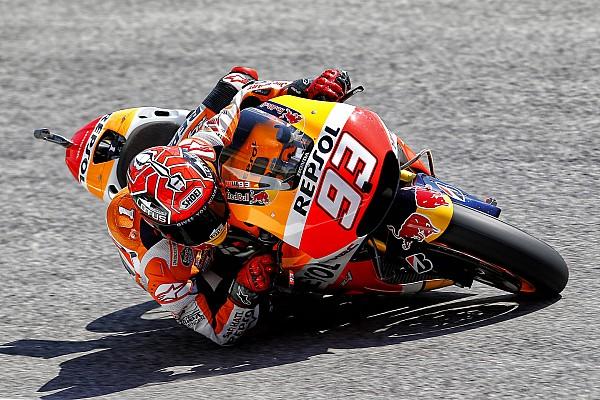 Marquez fails to make Q2 cut as Lorenzo blitzes FP3