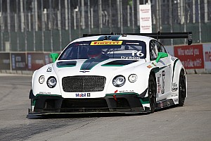PWC Race report Chris Dyson scores another World Challenge podium finish for Bentley at Detroit Grand Prix