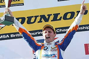 BTCC Breaking news Oulton BTCC win