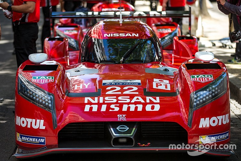 Seven cars, including Nissan trio moved to rear of Le Mans grid