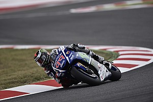 MotoGP Qualifying report Lorenzo charges to third in Catalunya qualifying