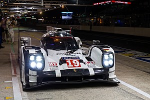 Hulkenberg leads Le Mans as midnight strikes