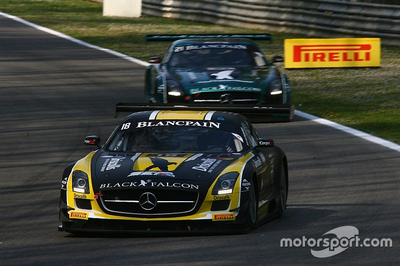 Black Falcon gets down to business for third round of the 2015 Blancpain Endurance Series in France