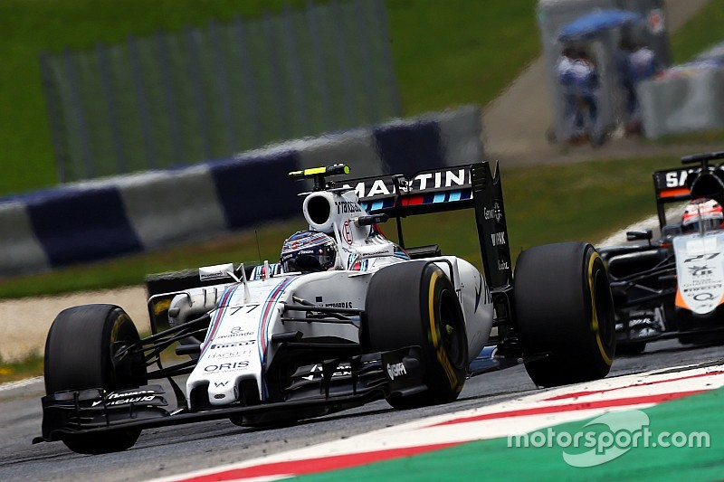 Bottas' race compromised by brake problems