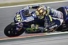 Rossi lidera la 1° práctica en Assen y Márquez se despista