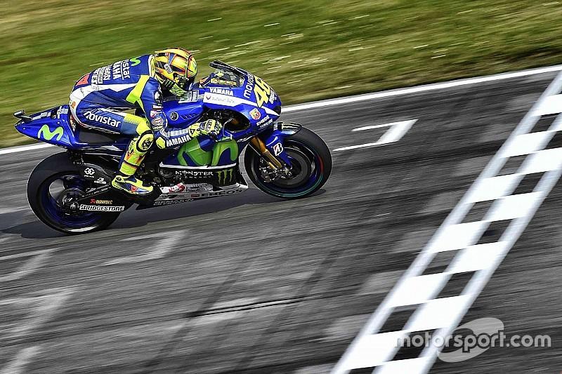 Rossi con la pole position