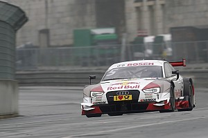 Audi driver Ekström with strong performance